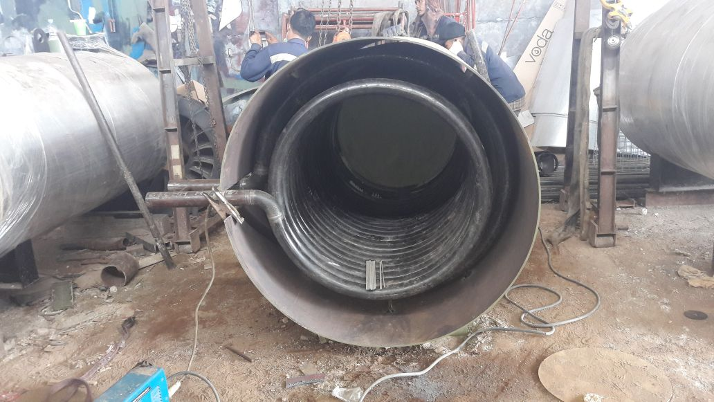 Fabrication Thermal Oil Heater